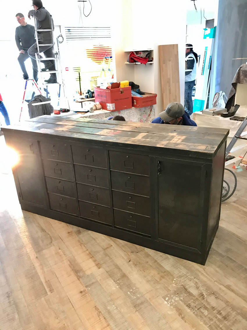 comptoir magasin best comptoir de cuisine en bois prix. Black Bedroom Furniture Sets. Home Design Ideas