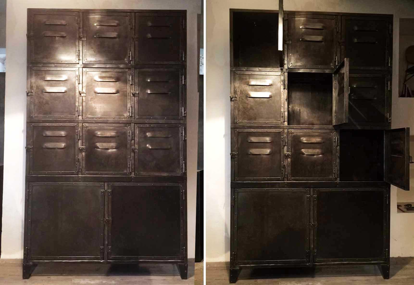 armoire rangement atelier beautiful armoire vestiaire portes dans rangement with armoire. Black Bedroom Furniture Sets. Home Design Ideas