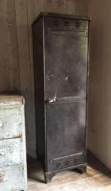 Meubles de rangement industriel m tal bois - Colonne metallique rangement ...