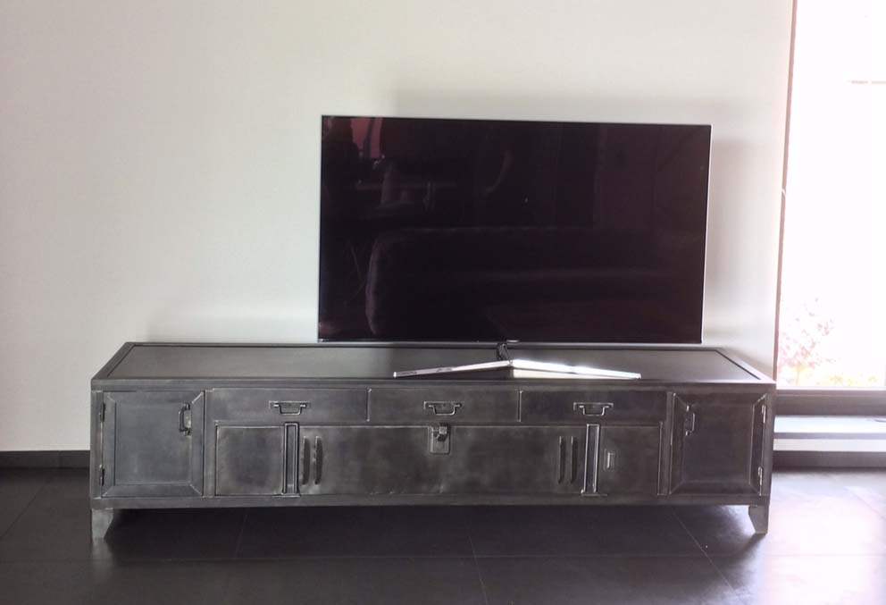 Meuble Industriel Tv