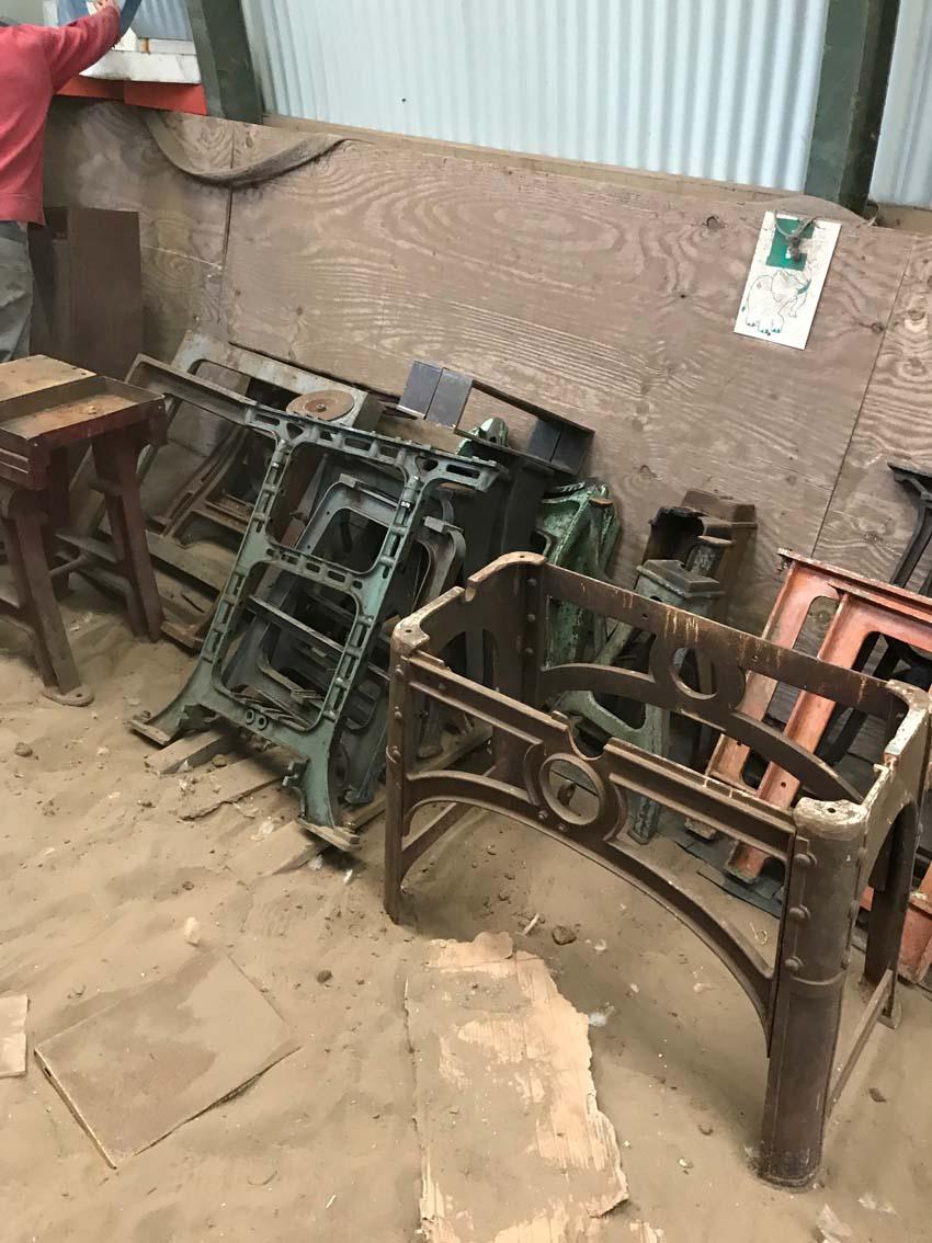 Tables Industrielles L Or Du Temps Mobilier Industriel